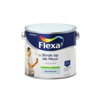 Flexa Strak op de muur zachtblauw mat 2,5 liter