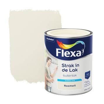 Flexa Strak in de lak roomwit zijdeglans 750 ml