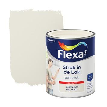 Flexa Strak in de lak voor buiten crèmewit hoogglans 750 ml