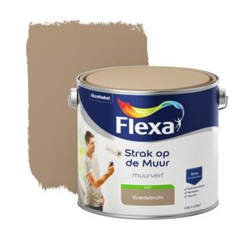 Flexa Strak op de muur suede mat 2,5 liter