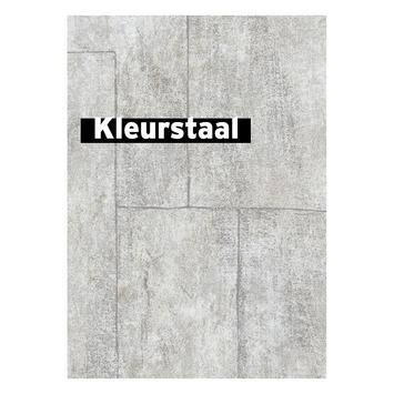 Behangstaal vliesbehang betonblokken natuurlijk 101802