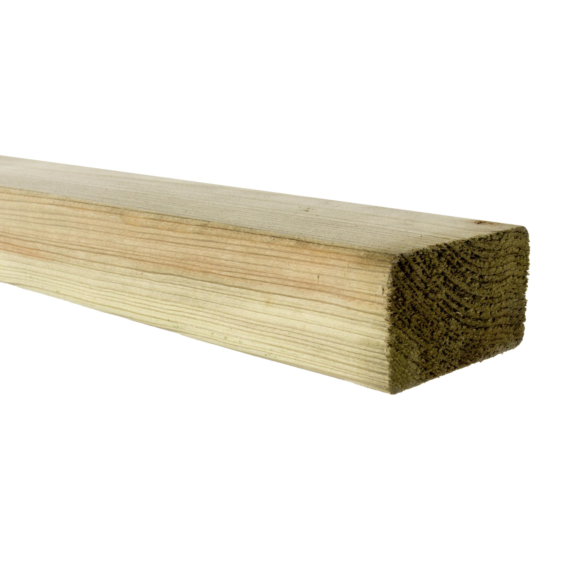 Eaglewood tuinbalk gewaxed 240x6,8x4,4 cm