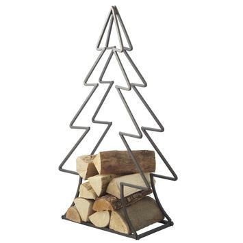 Kerstboom Houtrek 23x49x90cm - bruin