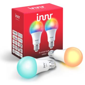 Innr smart peer LED lamp E27 kleur 2-pack