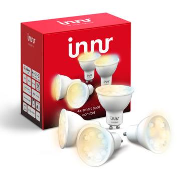 Innr LED lamp GU10 4-pack instelbaar wit