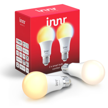 Innr LED lamp E27 2-pack instelbaar wit