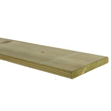 Tuinplank geschaafd ca. 360x14x1,6 cm