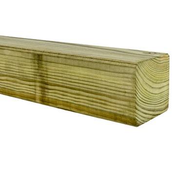 Tuinpaal geïmpregneerd grenen 240x6,8x6,8 cm