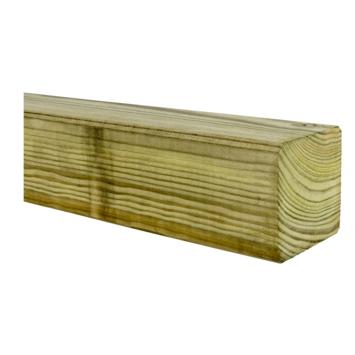 Tuinpaal geïmpregneerd grenen 270x6,8x6,8 cm