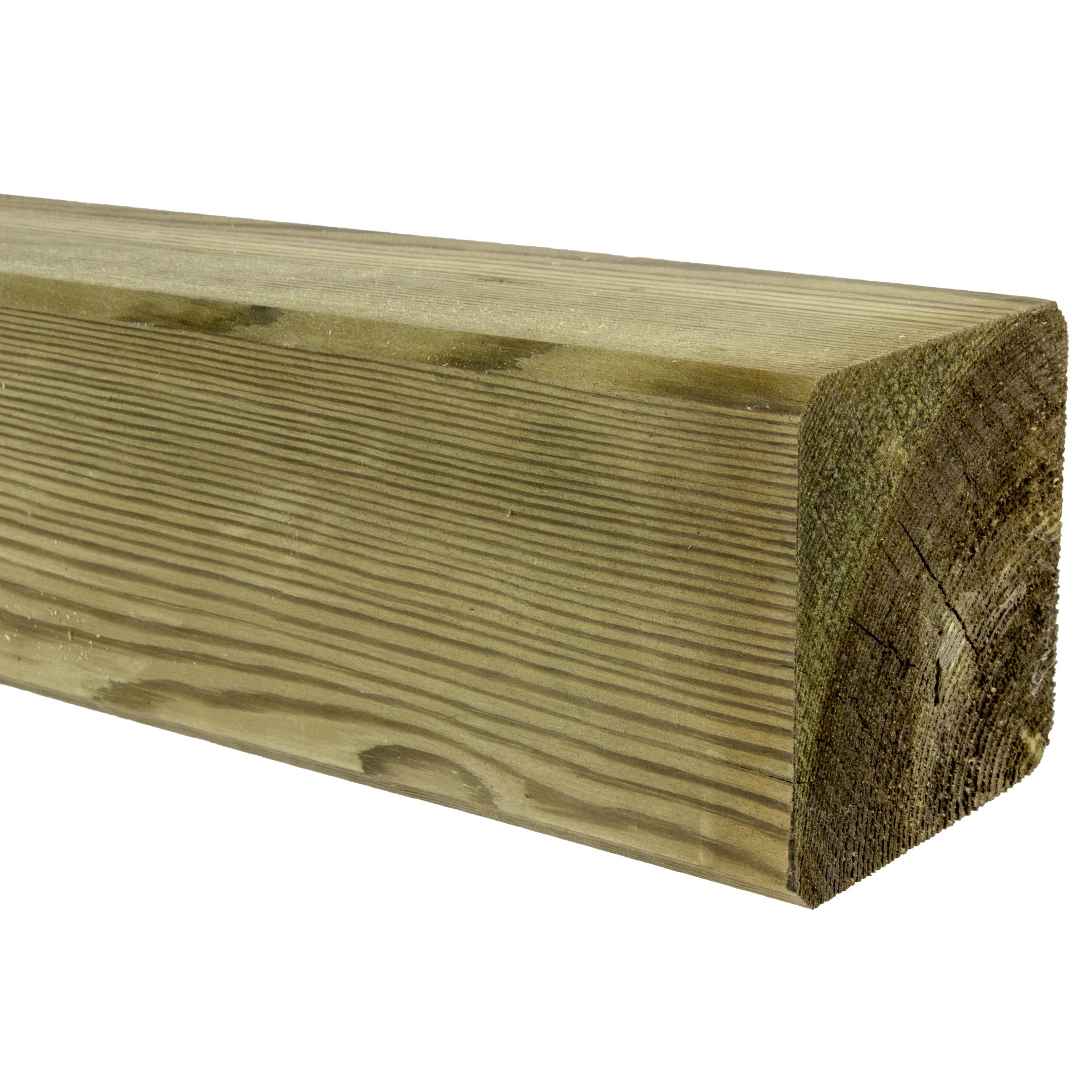 Tuinpaal geimpregneerd 8,8x8,8 cm, lengte 240 cm