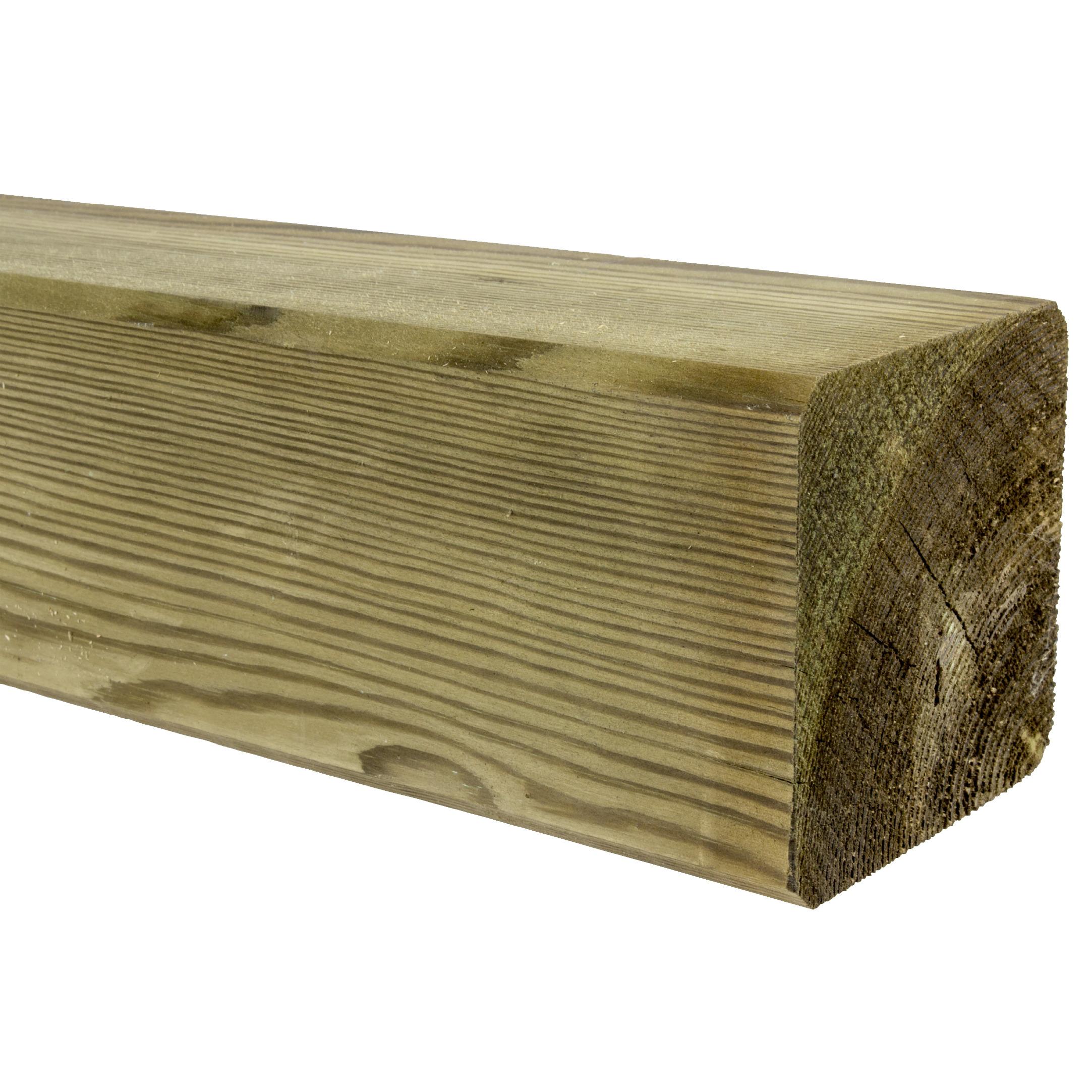 Tuinpaal geimpregneerd grenen 270x8,8x8,8 cm
