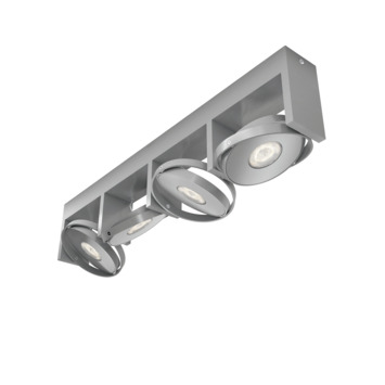 Philips Opbouwspot MyLiving Particon LED Aluminium 4 x 4.5W