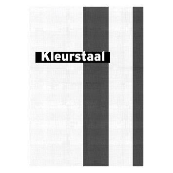 Behangstaal vliesbehang Streep wit-zwart 32-620