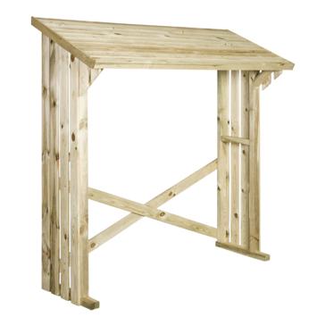 gamma haardhoutberging bente 180x180 cm kopen tuinkasten opbergboxen. Black Bedroom Furniture Sets. Home Design Ideas