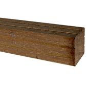 Tuinpaal hardhout met punt 270x6,5x6,5 cm