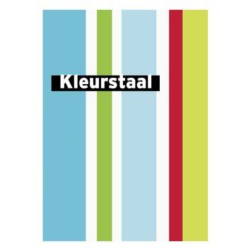 Behangstaal papierbehang Streep rood-groen-blauw DF74099