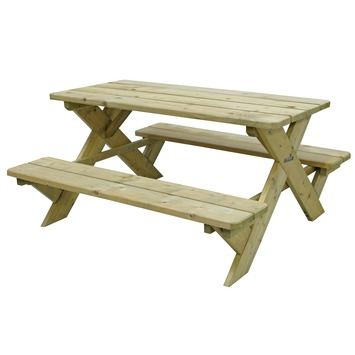 Houten Picknicktafel Gamma.Kinderpicknicktafel Exclusive 50x90x98 Cm
