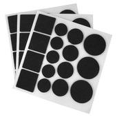 HANDSON anti krasvilt 48 stuks zwart assorti