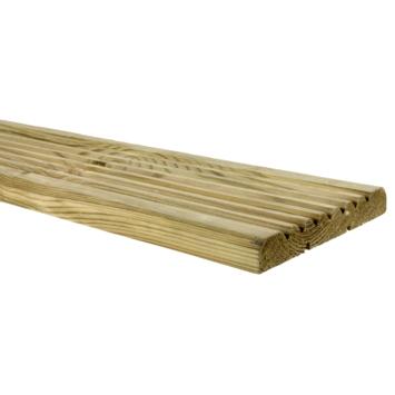 Vlonderplank geïmpregneerd ca. 1,9x14 cm, lengte ca. 180 cm