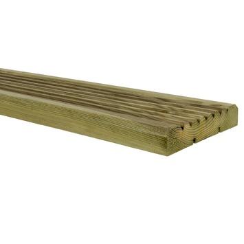 Vlonderplank geïmpregneerd ca. 2,6x14 cm, lengte 180 cm