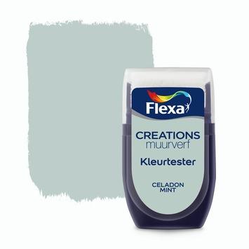 Flexa Creations muurverf Kleurtester Celadon Mint mat 30ml