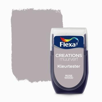 Flexa Creations muurverf Kleurtester Rode Wood mat 30ml