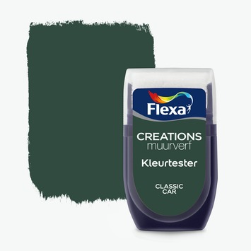 Flexa Creations muurverf Kleurtester Classic Car mat 30ml