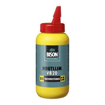 Bison professional houtlijm VB20 D3 wit 750 g