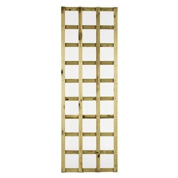 Trellisscherm de luxe grenen 180x60 cm