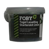 Foby+ :Levelling system starterskit 2mm