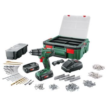 Bosch accuboormachine PSR1800 + SystemBox