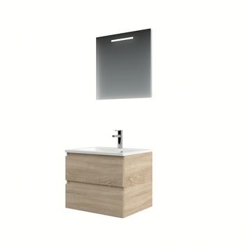 Bruynzeel Cadiza badmeubelset spiegel 60cm bardolino