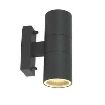 GAMMA buitenlamp Edmonton grijs 2-lichts