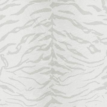 Vliesbehang Tijger wit-zilver 32-629