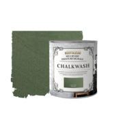 Rust-Oleum muurverf Chalkwash groen grijs 1 liter
