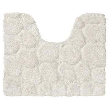 Sealskin WC mat Pebbles 50x60 cm Ivoor
