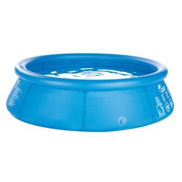Zwembad blauw 360x76 cm inclusief hoes en filterpomp