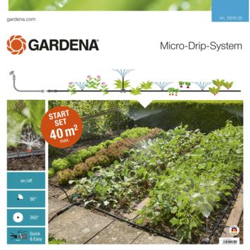 Gardena Micro Drip startset voor bloembollen of moestuin