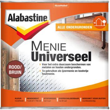 Alabastine Menie Universeel rood/bruin 750 ml