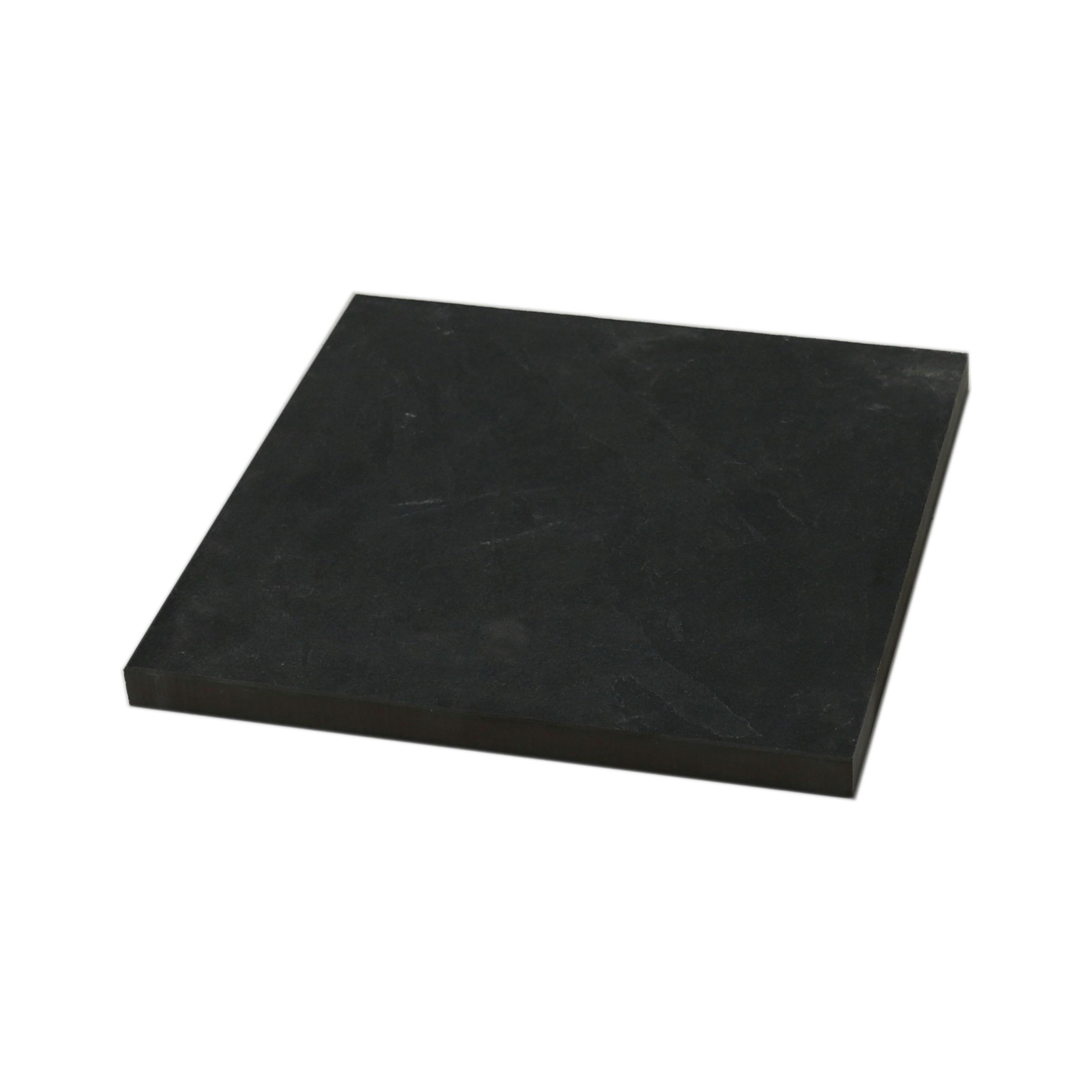 Terrastegel Keramisch Slate Zwart 60x60 cm - 68 Tegels - 24,48 m2
