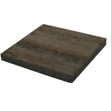 Terrastegel Beton Quadro Schelp Grijs/Bruin 40x40 cm - 108 Tegels / 17,28 m2