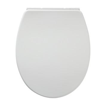 Tiger WC bril Boston Wit/Chroom Kunststof met Softclose