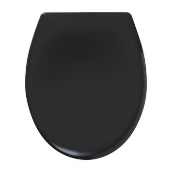 Tiger WC bril Ventura Zwart Kunststof met Softclose