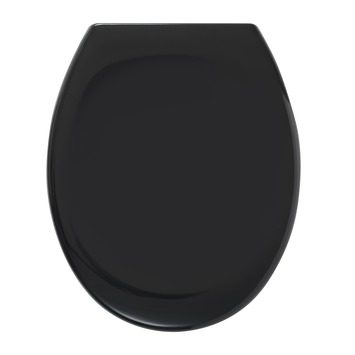 Tiger WC bril Mason Zwart Kunststof met Softclose