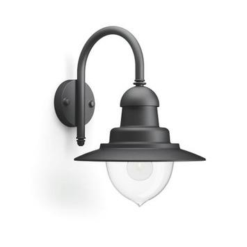 Philips wandlamp Raindrop zwart