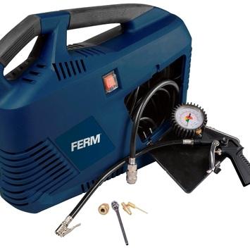 FERM draagbare compressor CRM1049