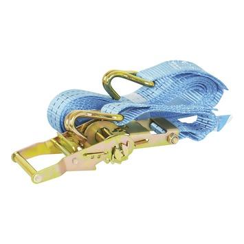 Carpoint extra brede spanband met ratel en haken 7m
