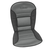 Carpoint stoelkussen zwart/grijs