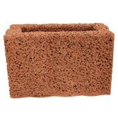 Bloembak beton rechthoek 40x25x20 cm
