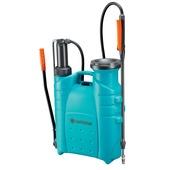 Gardena Comfort rugdrukspuit turquoise met grijs en oranje 12 liter